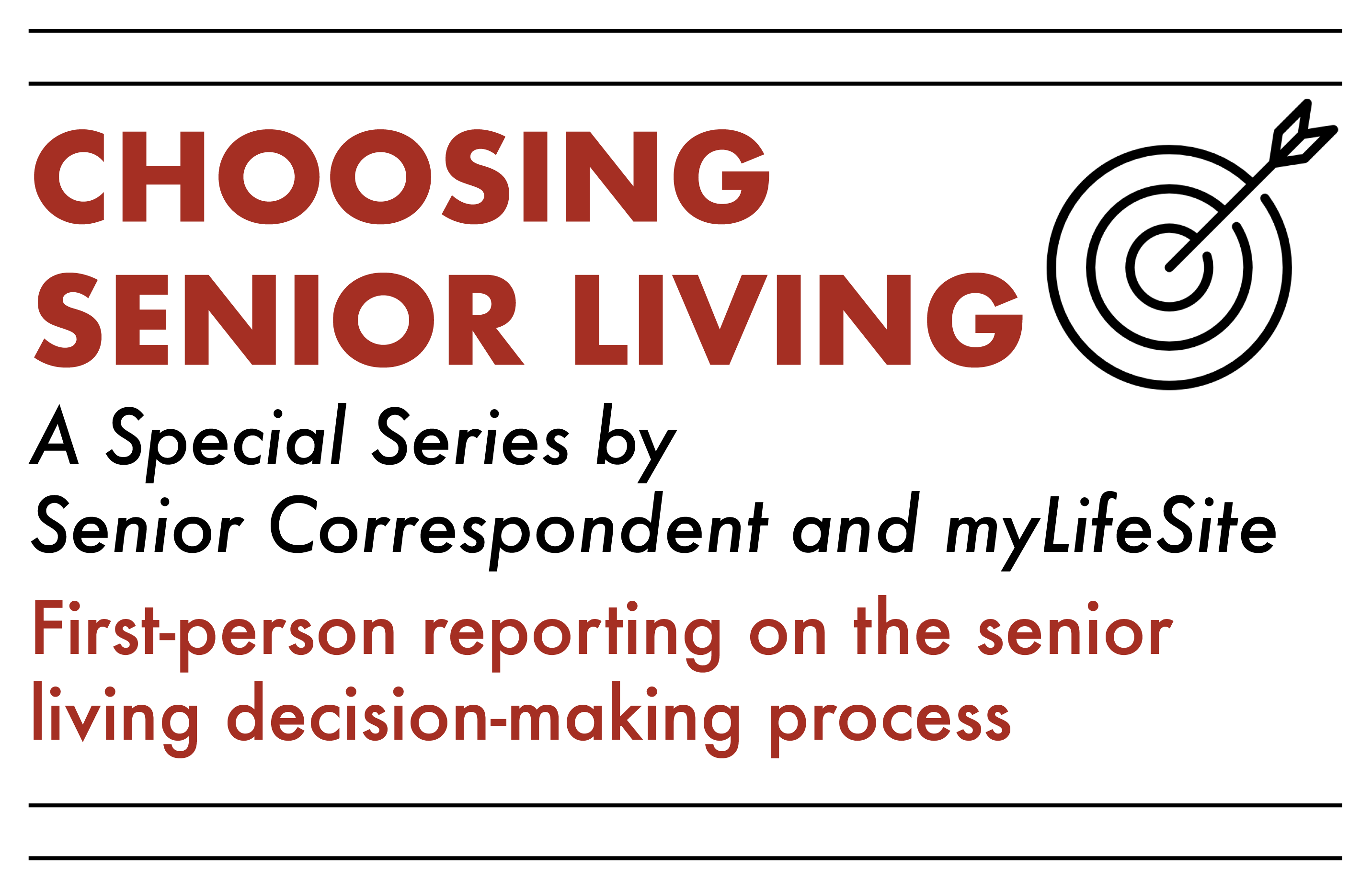 Choosing Senior Living