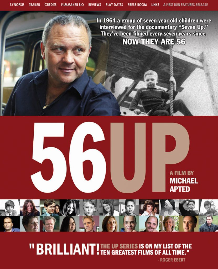 """56 Up"": Growing With the Audience"