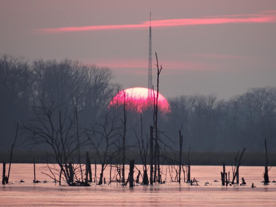 Reservoir Sunset