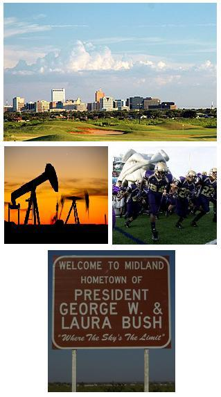 Texas Oil Country: Midland and Odessa