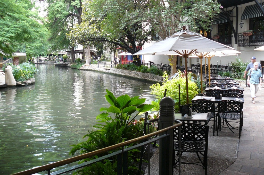 San Antonio and Galveston, Texas