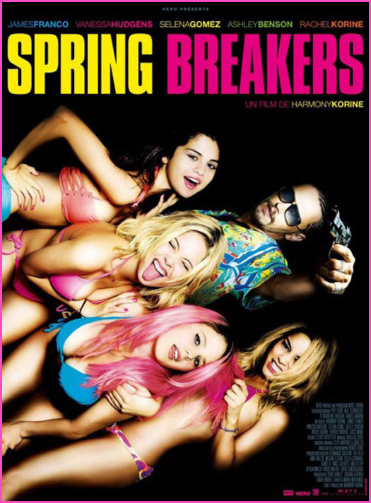 """""""Spring Breakers"""": Did Not Break Through All the Way"""
