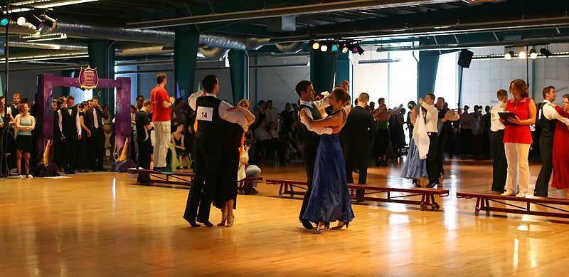 The Non-Sexual Intimacy of Ballroom Dance, A Primer