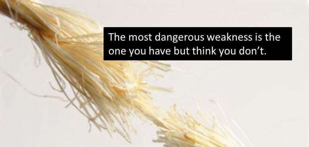 The Most Dangerous Leadership Weakness