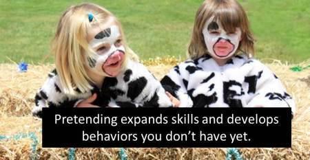How Pretending Develops Leaders