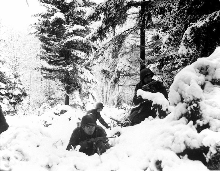 Christmas in Belgium, 1944