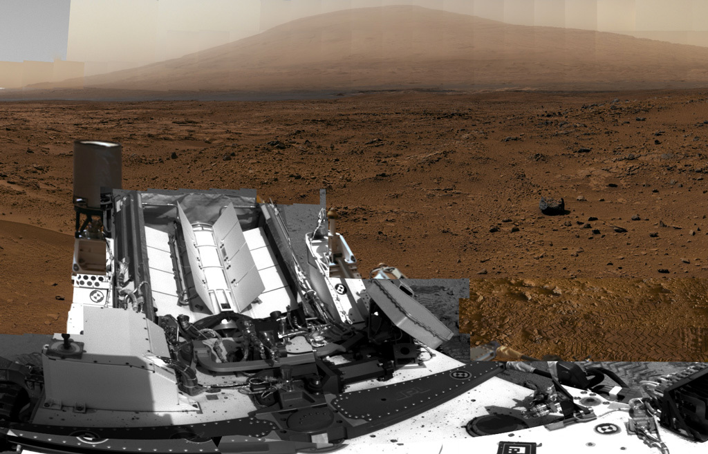 Curiosity Traverses the Martian Surface