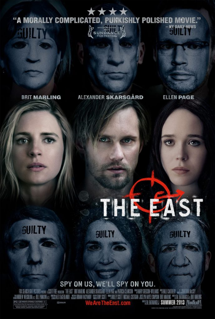 'The East': A Melange of Suspense, Paranoia, and Conspiracy