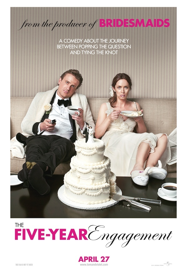 """The Five-Year Engagement"": Funny, It Felt Longer"