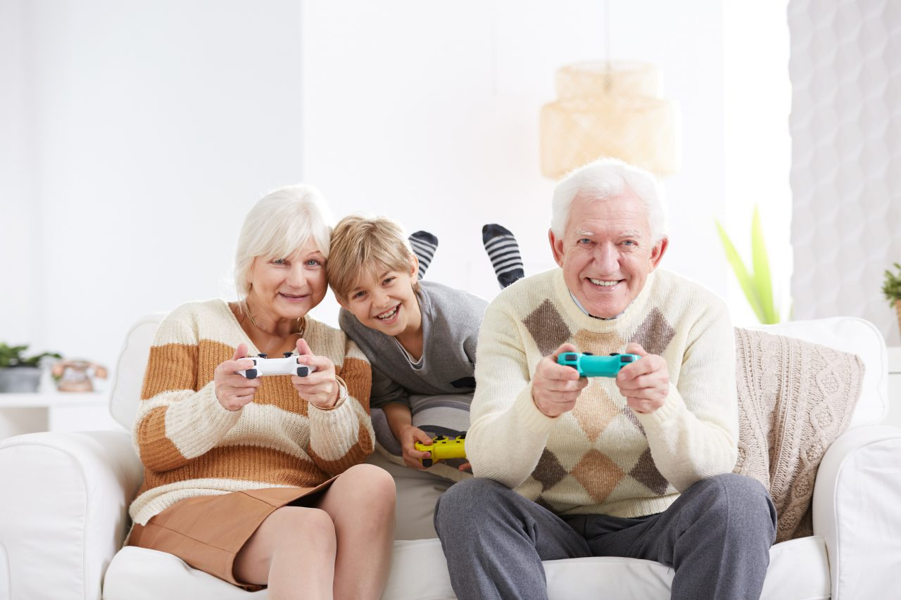 Gaming Helps Aging