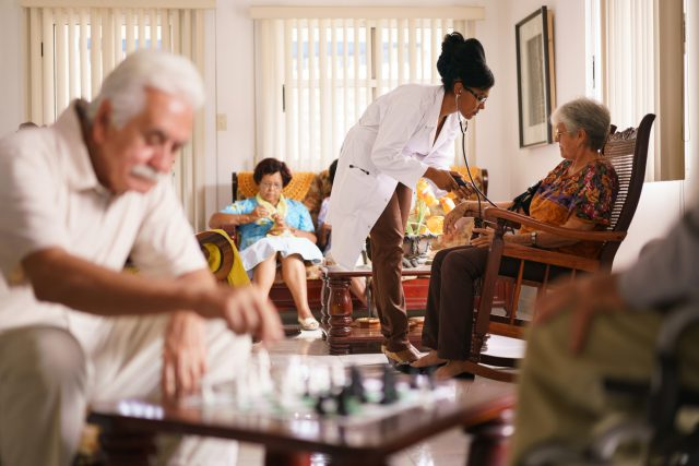 Nursing Homes Move Into the Insurance Business