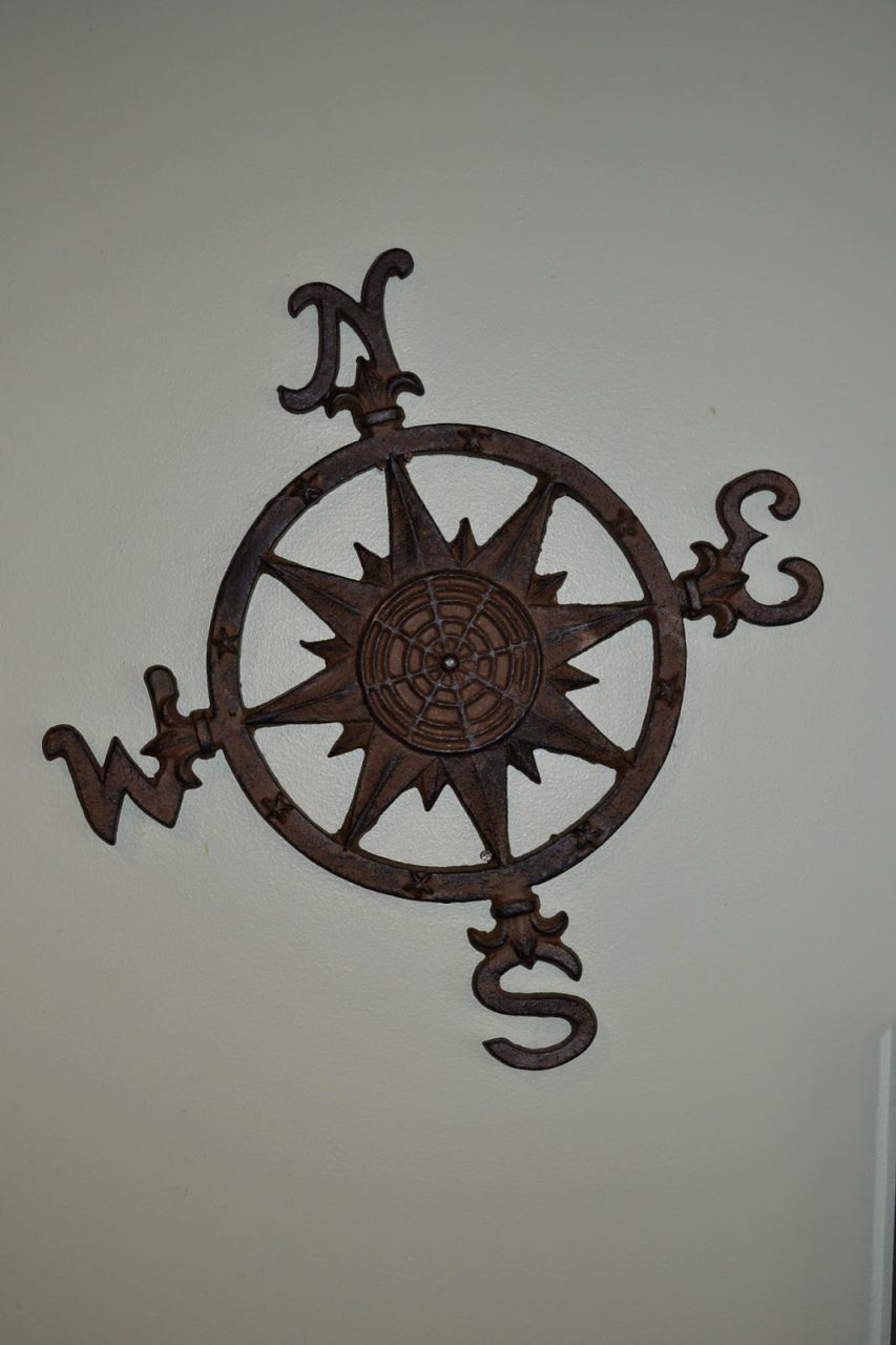 Curious Case of the Cast Iron Compass Rose