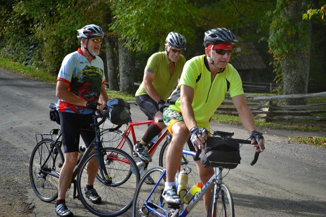 Riding the Ridges for the Floyd Library