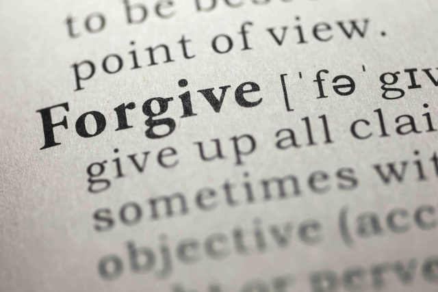Forgiving Requires Shift in Perception