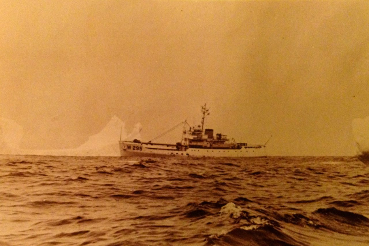 A Man at Sea