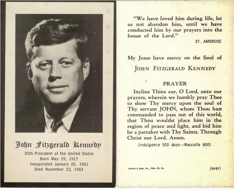 My Fragment of Kennedy Memorabilia