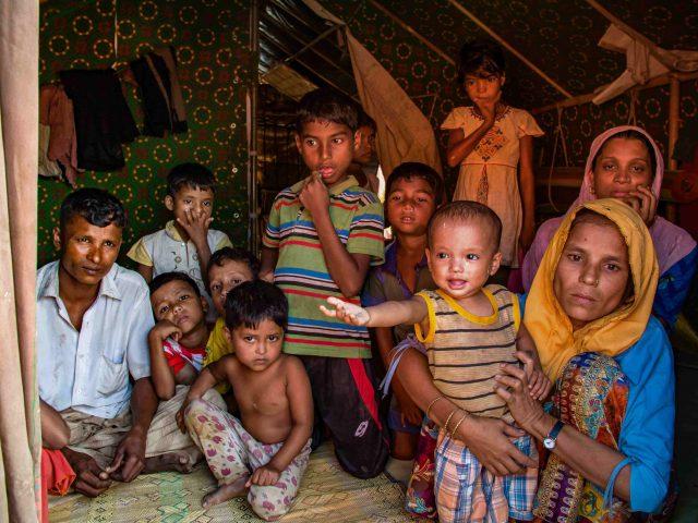 Among the Rohingya