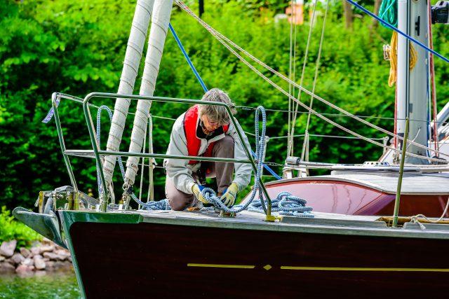 Two Women in a Boat