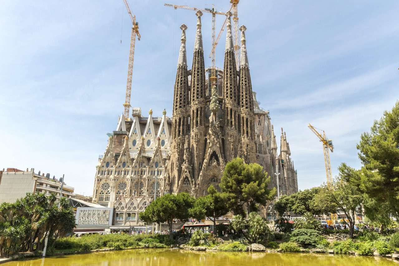 Paying Homage From A-Z to Barcelona's Sagrada Familia