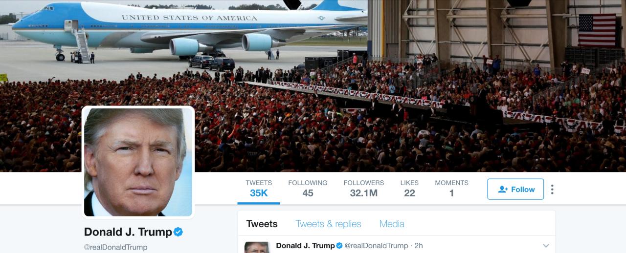 Trump Blocks Twitter Users