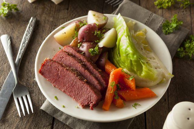 Corned Beef and Cabbage: A New Tradition