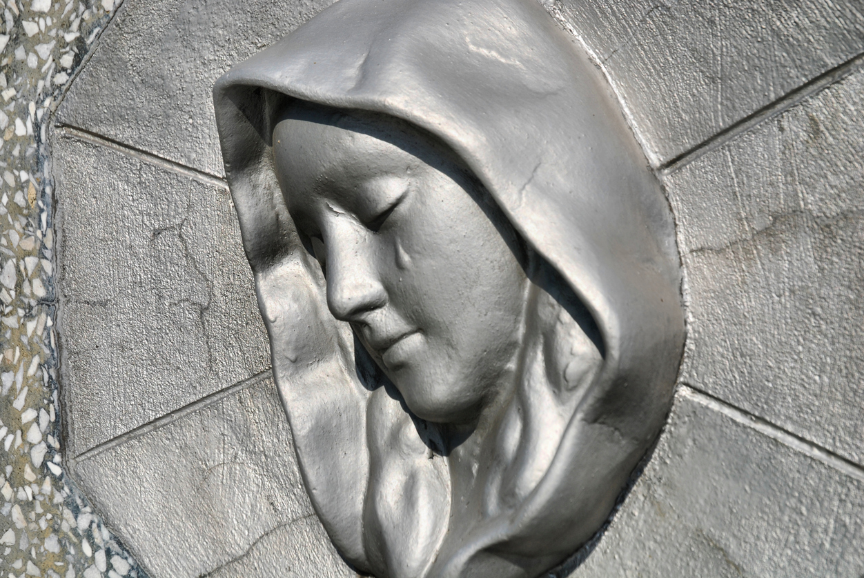 Weeping Virgin Mary Statues