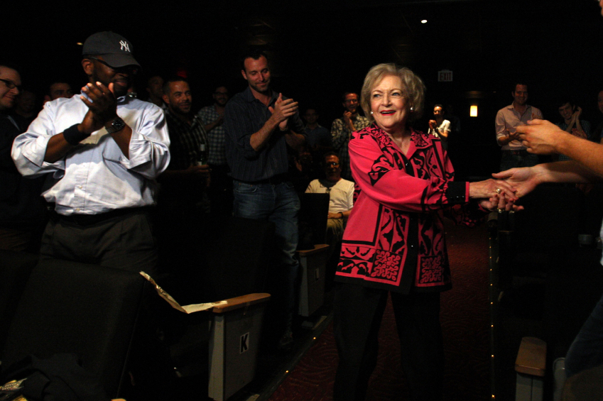 Actress Betty White: A Rose for All Seasons