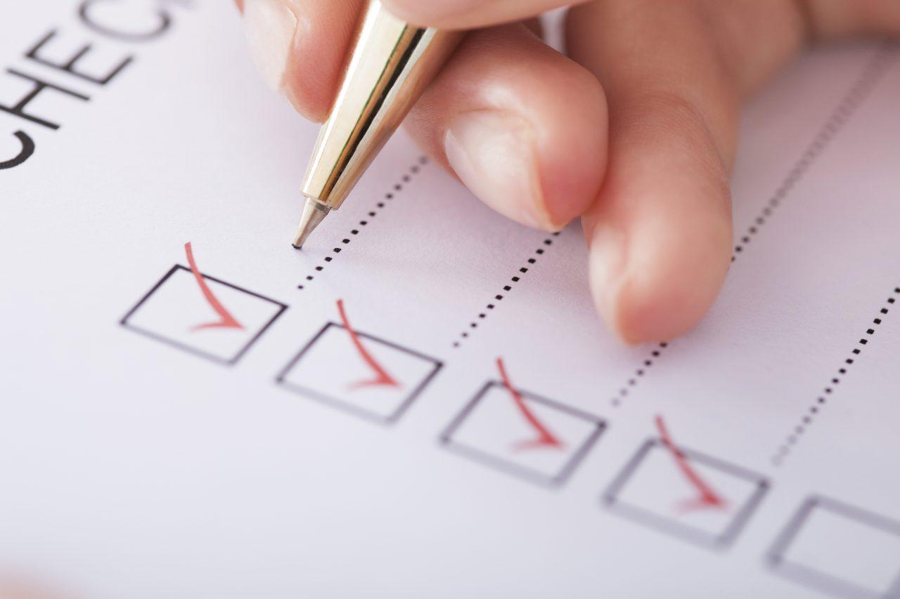 The Checklist Challenge