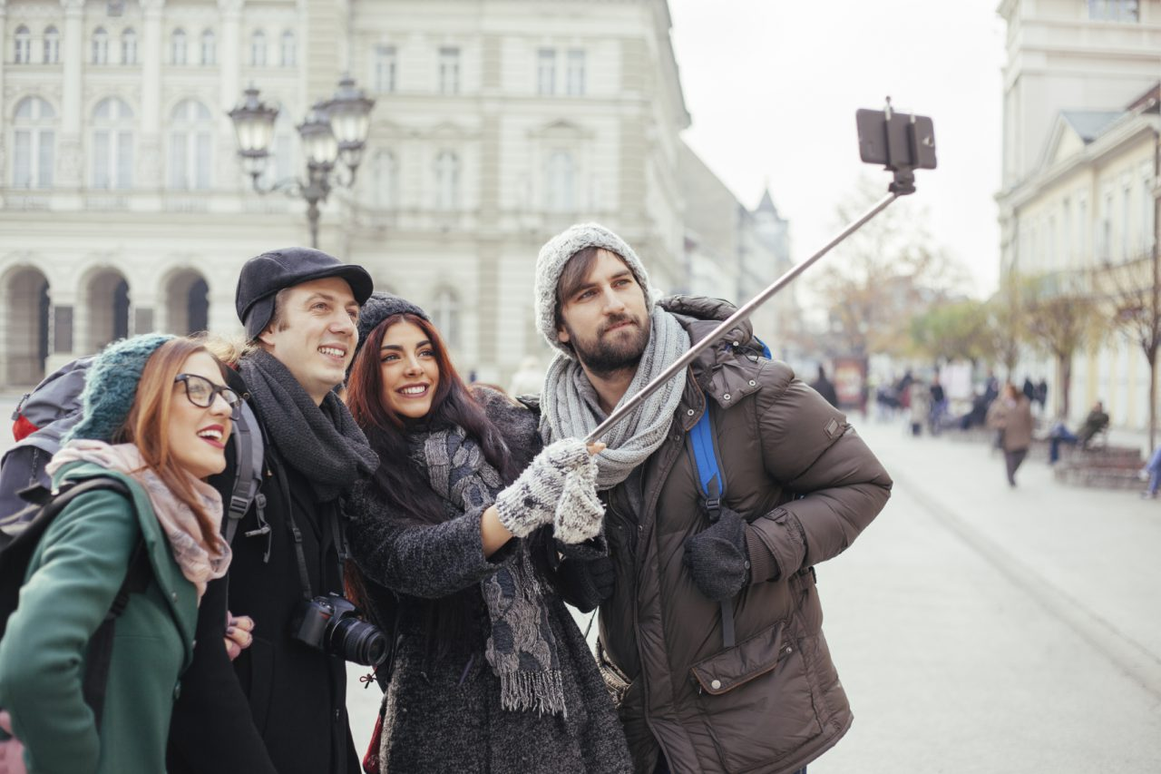 Take Your Selfie Stick and Stick It
