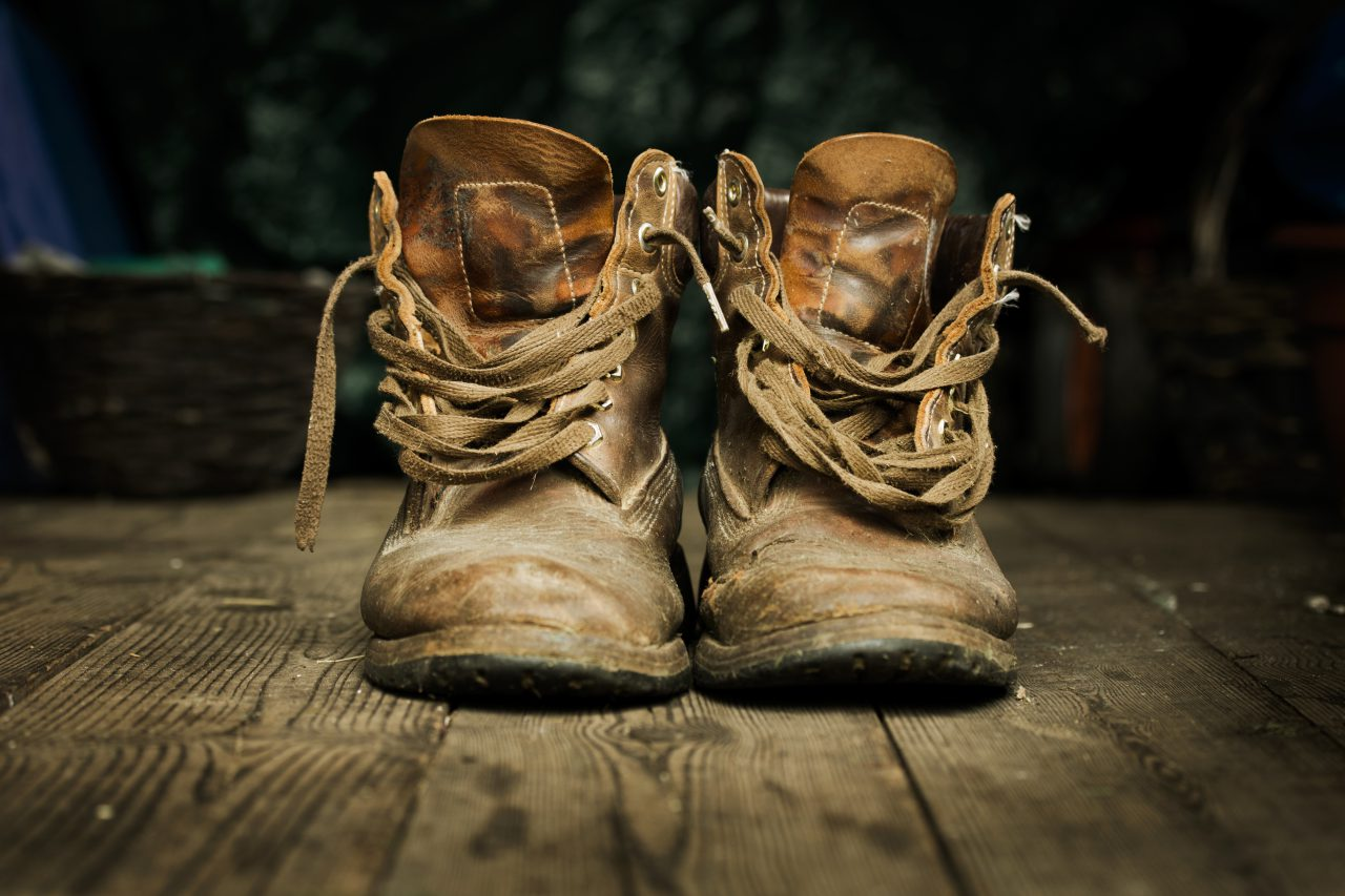 Ode to some old boots