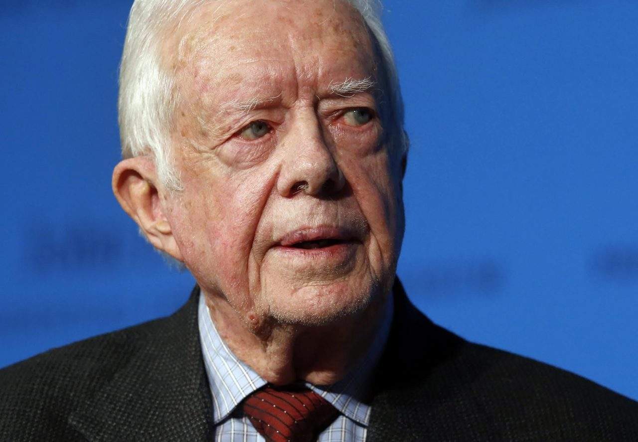 Ailing Jimmy Carter